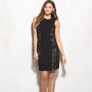 Lovely by Adrianna papell black lace dress
